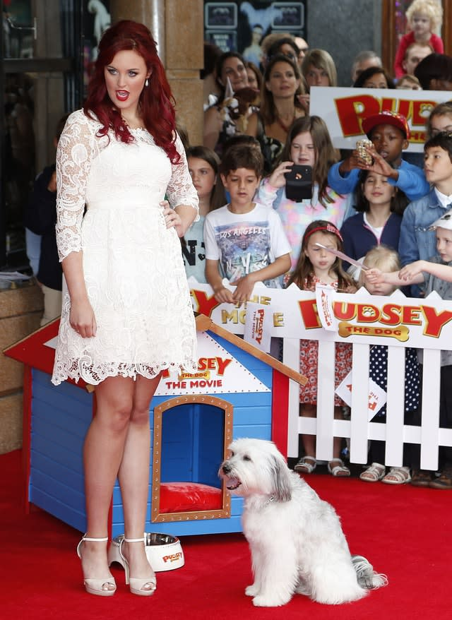 Pudsey The Dog The Movie Premiere – London