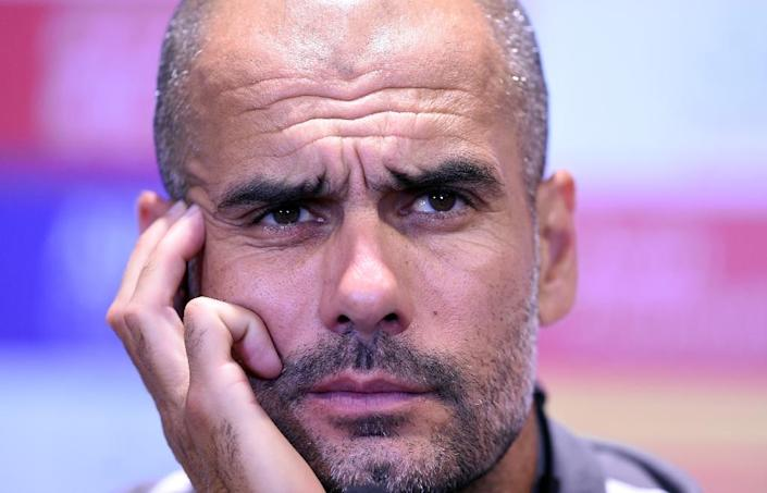 """Former Barcelona coach Pep Guardiola is on the """"Together for the Yes"""" list in Catalonia (AFP Photo/Johannes Eisele)"""