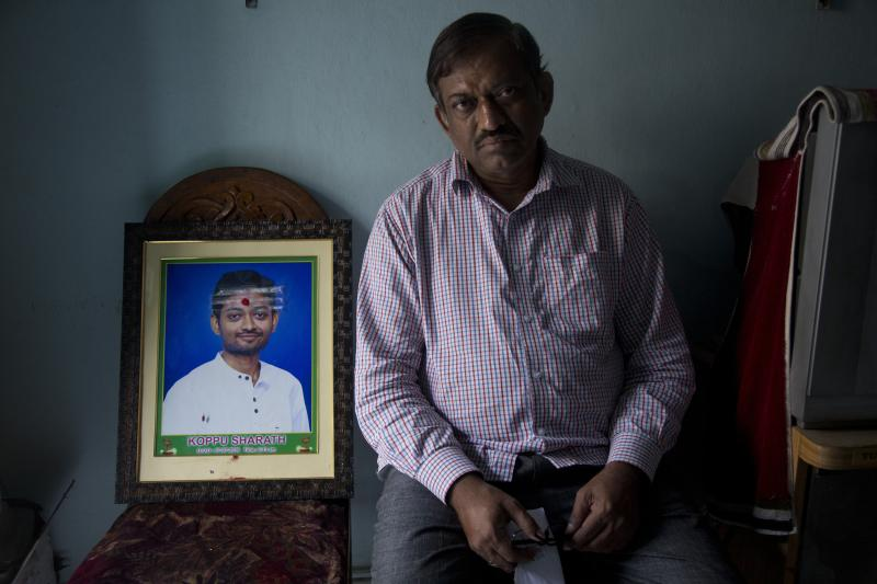 Indian student's dad has questions about Kansas City killing