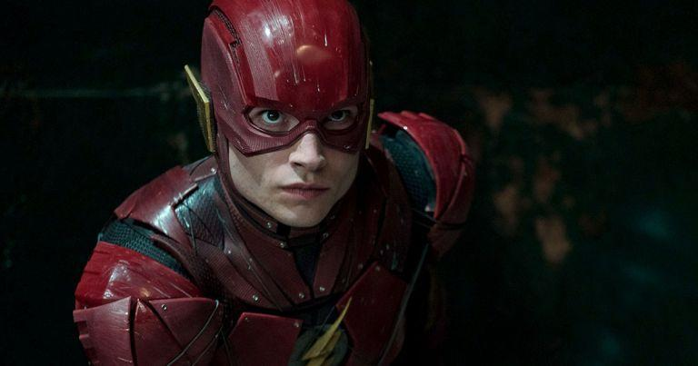 Ezra Miller as The Flash (Credit: DC/Warner Bros)