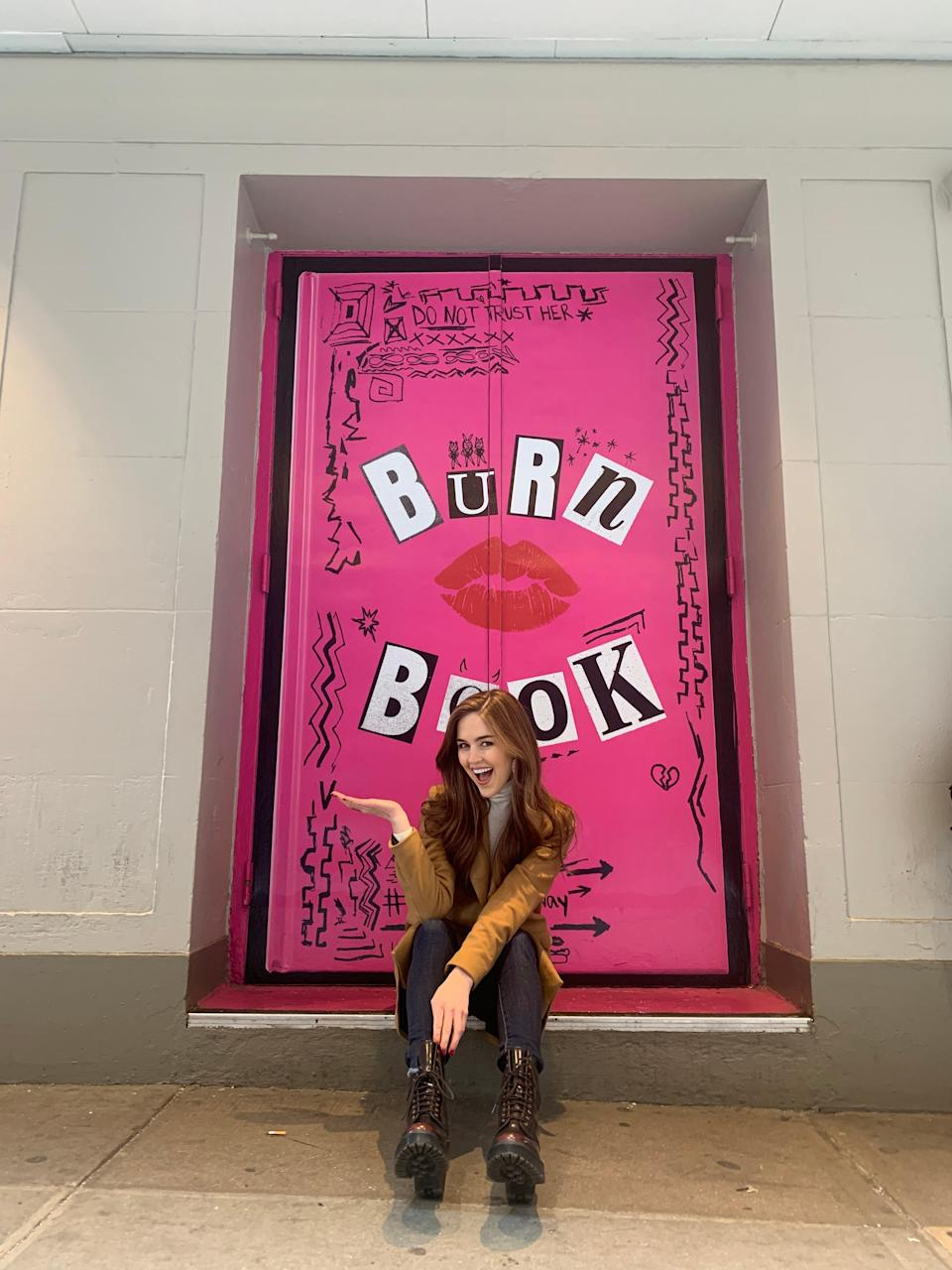 """Turner moved out of her """"Mean Girls"""" dressing room in January after the show announced it would not return to Broadway. """"It was really hard to come in and say goodbye to these costumes and to our space,"""" she said."""