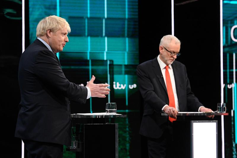 Johnson said Labour's Brexit plan would mean more 'dither and delay' (ITV)