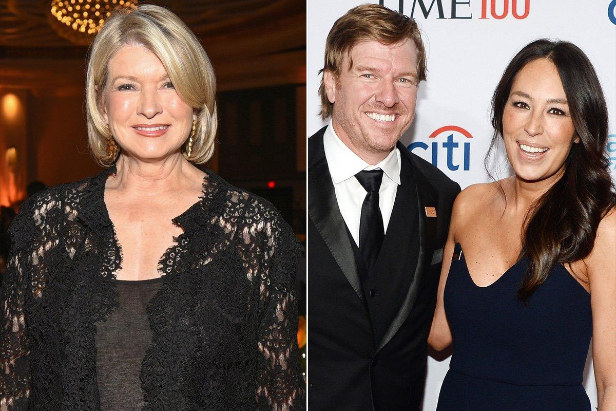 """At the 2019 TIME 100 Gala, Chip and Jo could not wait to meet the domestic doyenne. But """"she didn't have the faintest idea who we are, not a single clue,"""" <a href=""""https://pagesix.com/2019/04/24/martha-stewart-had-no-clue-who-chip-and-joanna-gaines-are/?utm_source=maropost&utm_medium=email&utm_campaign=pagesixdaily&utm_content=20190425&tpcc=pagesix_daily&mpweb=755-7806994-711669094"""">Chip later told the</a><em>New York Post.</em> """"But we don't mind at all, Joanna was so excited to meet Martha. Martha was very gracious and supportive, it was really wonderful moment for us to meet her.""""  Stewart later clarified to the<em>Post</em>that she'd heard of the power couple, but just didn't immediately recognize them.  """"I know they have a lovely family and a TV station,"""" she added."""