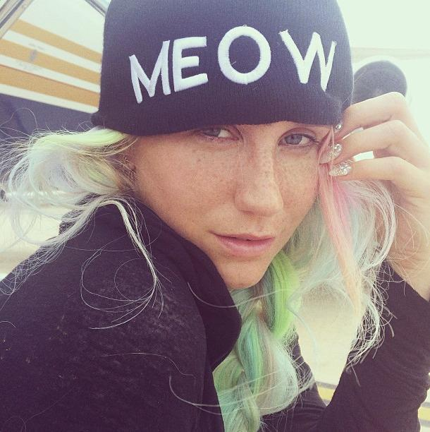 <p>The singer showed off her freckles in this selfie from August 2014. (<i>Photo: Instagram)</i></p>