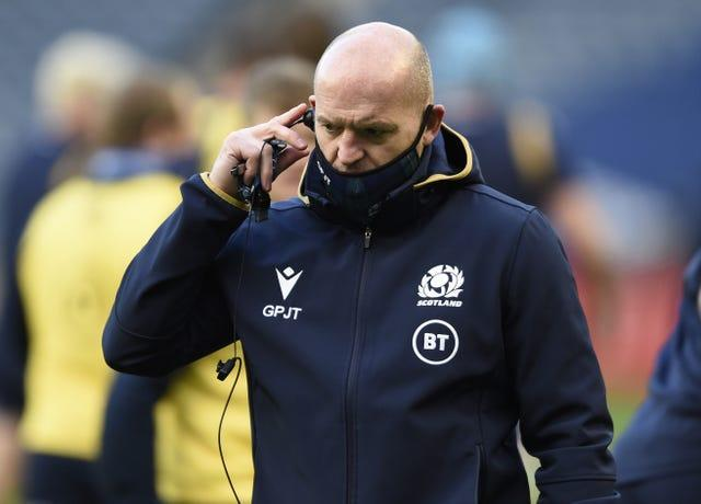 Gregor Townsend's squad will not have a game this weekend