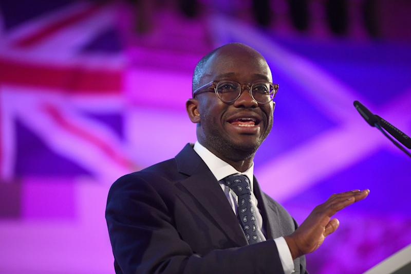 File photo dated 09/04/19 of Conservative former minister Sam Gyimah who has become the 13th MP to throw their hat into the race to replace Theresa May as party leader.