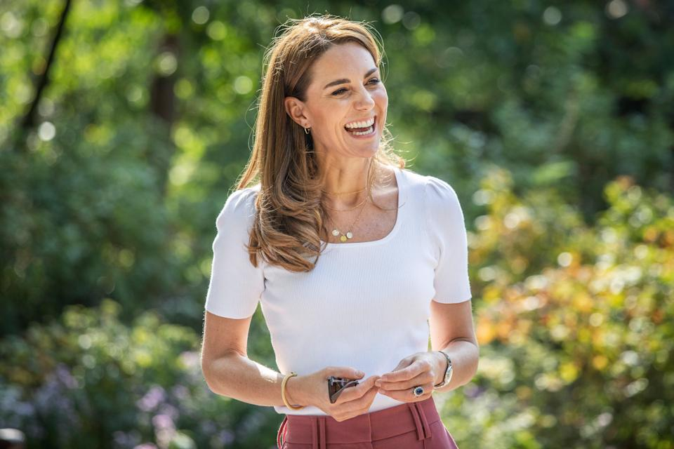 """<h1 class=""""title"""">The Duchess of Cambridge Meets Families And Key Organisations To Discuss Parent Wellbeing</h1><cite class=""""credit"""">Getty</cite>"""