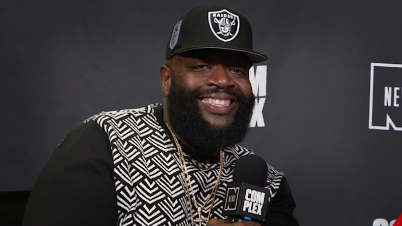 """Rick Ross Says Kanye Made Him Throw Out First """"Devil in a New Dress"""" Verse"""
