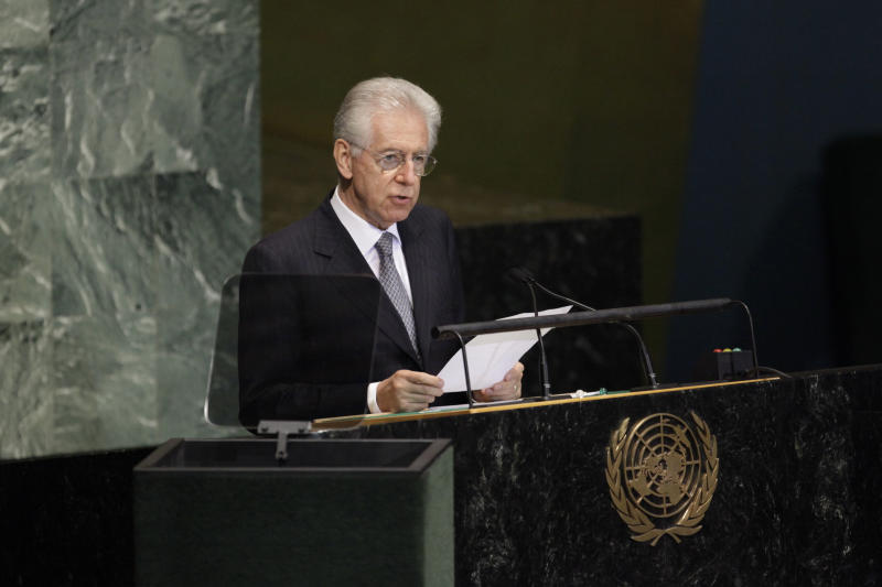 Monti: would consider govt role after elections