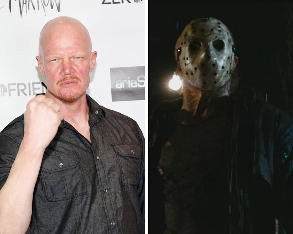 <p>Over the course of the twelve <em>Friday the 13th</em> films, eight actors have portrayed the Camp Crystal Lake serial killer. But the most recent performer to don the iconic hockey mask was actor/stuntman Derek Mears in 2009's <em>Friday the 13th</em> remake. The actor has a lengthy horror resume, having also been in <em>Predators</em>, <em>Swamp Thing, </em>and <em>The Hills Have Eyes 2</em>.</p>