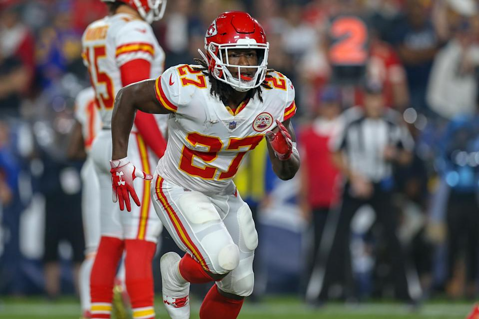 Kareem Hunt said he was wrong for his behavior during a February incident in Cleveland. (Getty Images)