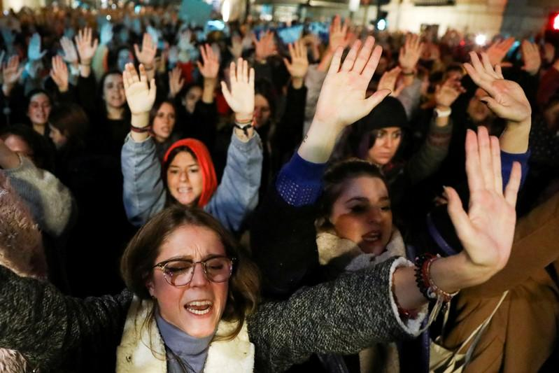 Spanish prosecutor to seek tougher rape verdict in abuse case after protests