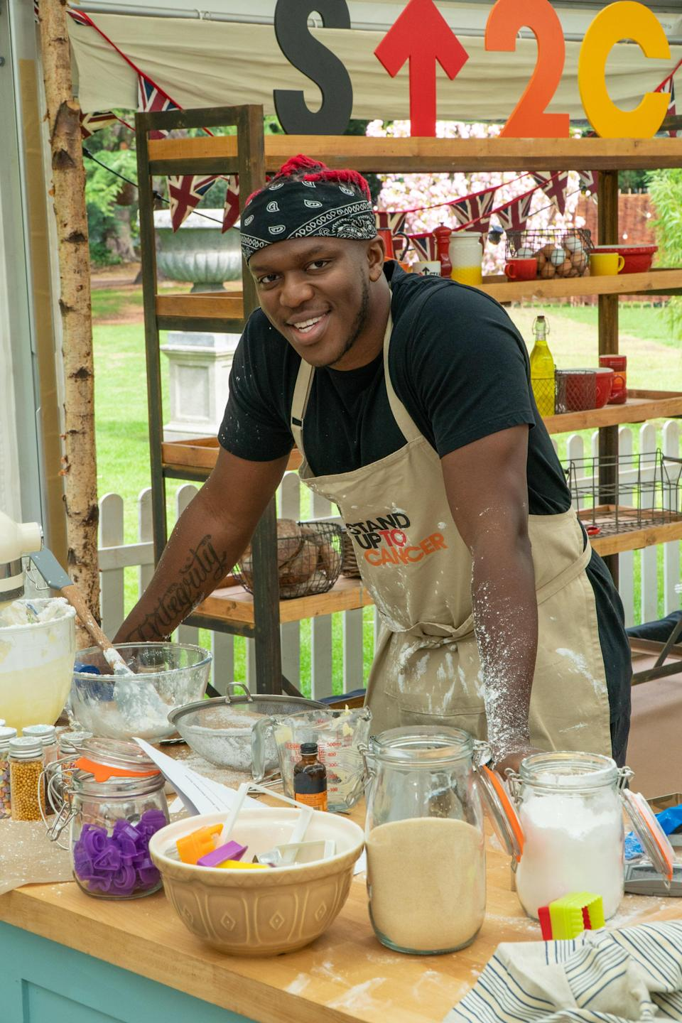 YouTuber and musician KSI will also be competing (Channel 4/Love Productions)