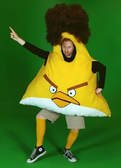 Angry Birds costume dude