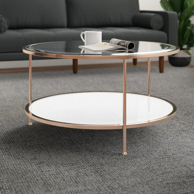 """<h2>Jamiya Coffee Table</h2><br><strong>Deal: 28% Off</strong><br><br><strong>Willa Arlo Interiors</strong> Jamiya Coffee Table, $, available at <a href=""""https://go.skimresources.com/?id=30283X879131&url=https%3A%2F%2Fwww.wayfair.com%2Ffurniture%2Fpdp%2Fwilla-arlo-interiors-jamiya-3-legs-coffee-table-with-storage-wrlo2076.html"""" rel=""""nofollow noopener"""" target=""""_blank"""" data-ylk=""""slk:Wayfair"""" class=""""link rapid-noclick-resp"""">Wayfair</a>"""