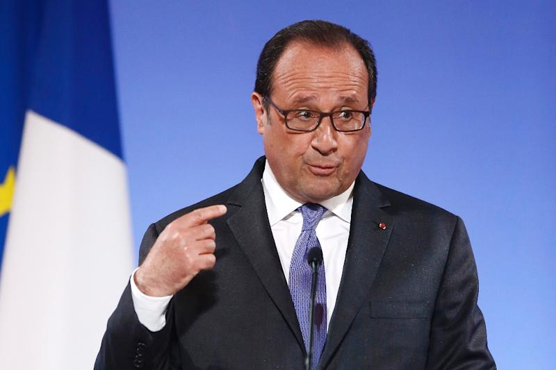 "French President Francois Hollande said it would be an ""illusion"" to say a deal was close (AFP Photo/Francois Mori)"