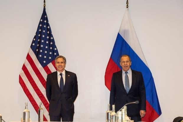 United States Secretary of State Antony Blinken and Russian Minister for Foreign Affairs Sergey Lavrov hosted a bilateral meeting to discuss each other's concerns about military presence in the Arctic.
