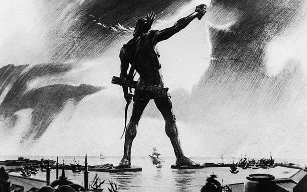 The Colossus of Rhodes survived for just 54 years