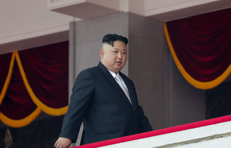 North Korea leader Kim Jong Un has been accused of human rights abuses (Rex)