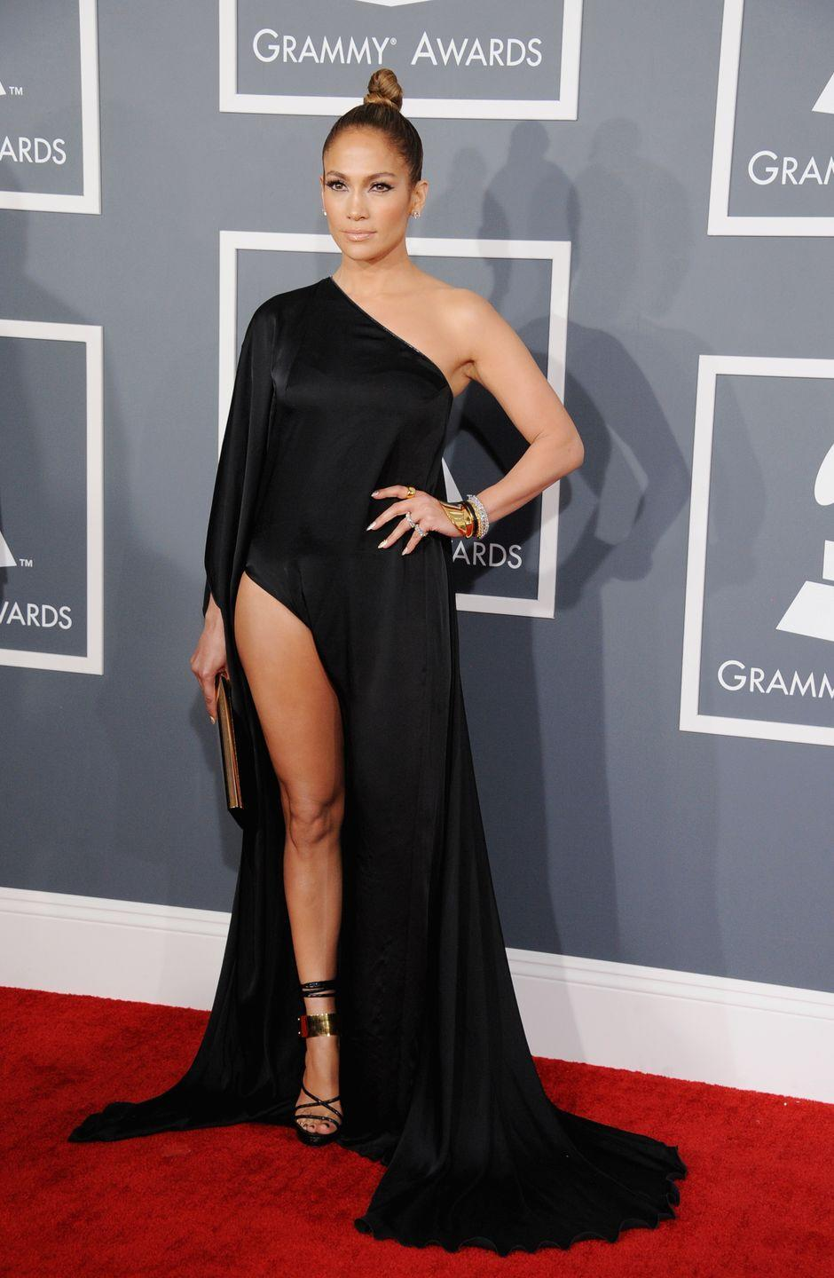 <p><strong>When: </strong>February 2013</p><p><strong>Where: </strong>The Grammys</p><p><strong>Wearing: </strong>Anthony Vaccarello</p>