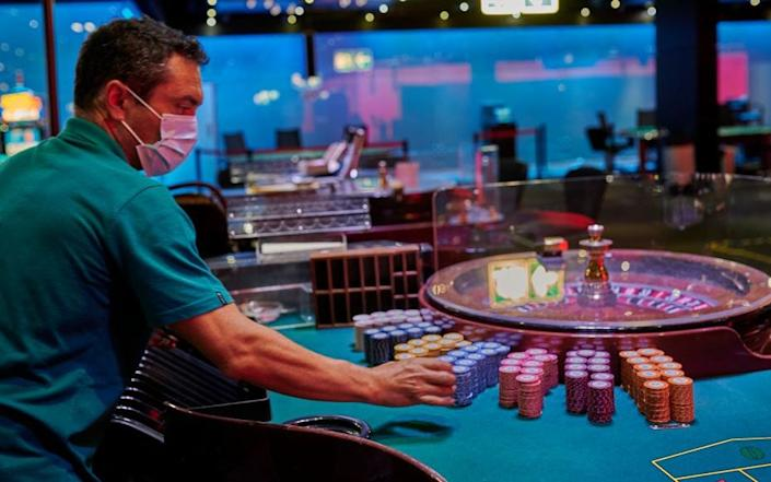 Casinos have reopened in Portugal