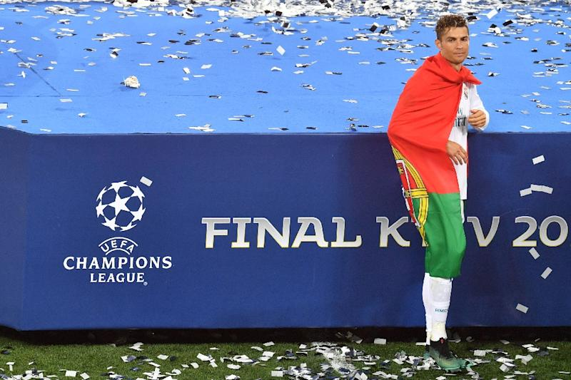 Cristiano Ronaldo's reaction after Real Madrid won the Champions League final in Kiev has left a sour taste at the club