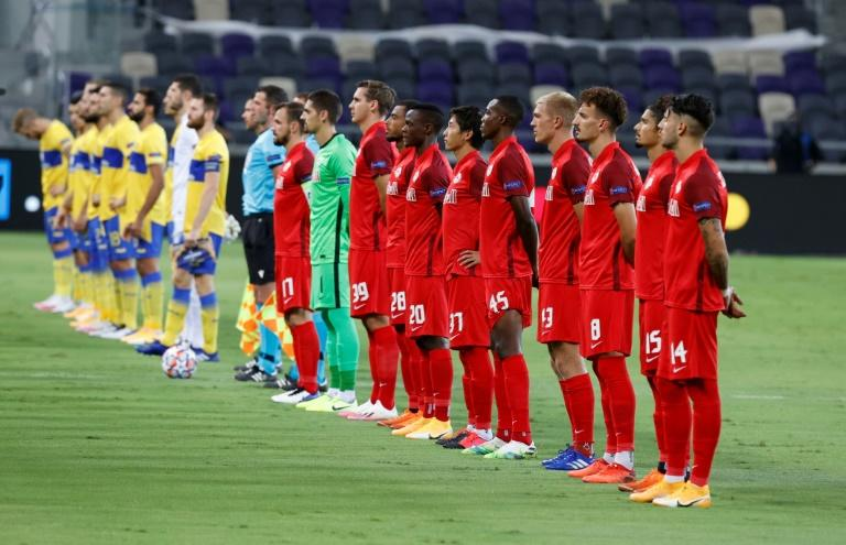Three Salzburg players test positive after Maccabi play-off