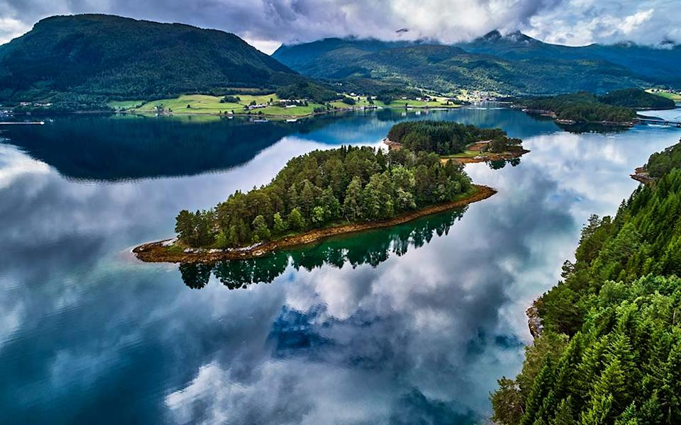 A no-fly Norwegian fjords cruise is top of the list for Katherine Lawrey's first post-lockdown family holiday - ANDREA PISTOLESI