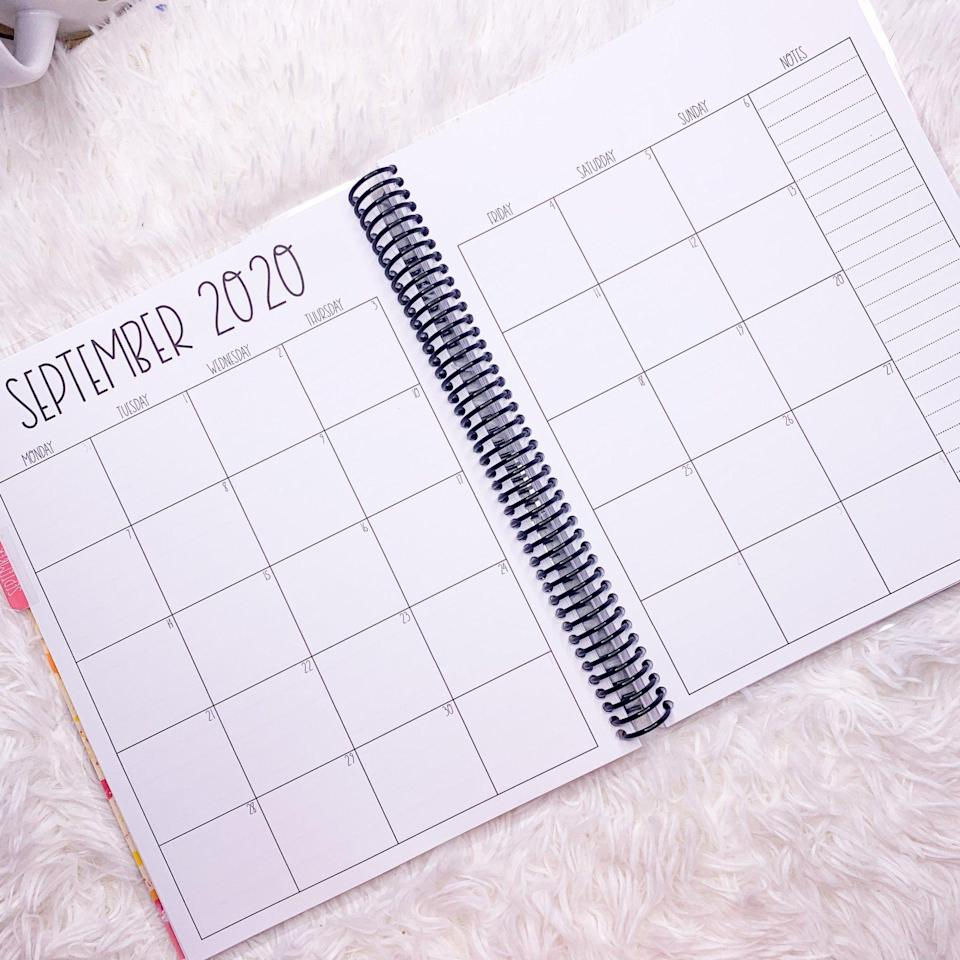 """<p><strong>Mariposa Studios</strong></p><p><strong>$34.99</strong></p><p><a href=""""https://mariposastudiosdesigns.com/collections/spiral-planners/products/2020-2021-teacher-planner-daily"""" rel=""""nofollow noopener"""" target=""""_blank"""" data-ylk=""""slk:SHOP IT"""" class=""""link rapid-noclick-resp"""">SHOP IT</a></p><p>Teachers are superheroes. Allow me to introduce Mariposa Studios' handmade daily teacher planner that comes in two different sections: August to December 2020 and January to July 2021, with six different cover options. </p>"""