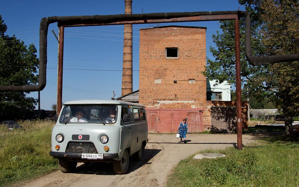 The vehicle used by Dr Sokolov to visit patients in rural areas - Andrey Borodulin