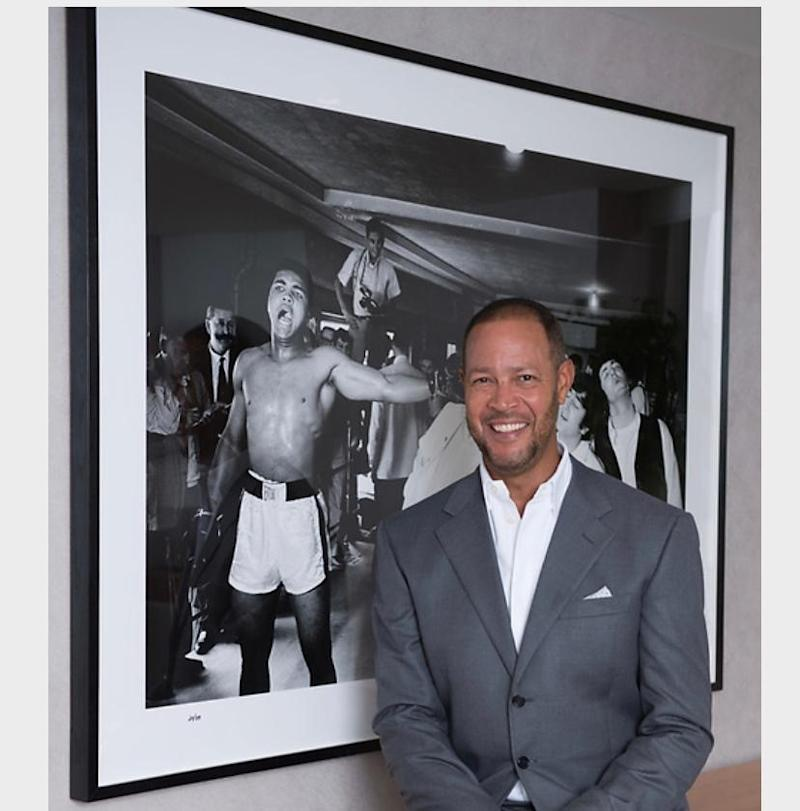 Ric Lewis, founder of the Black Heart Foundation