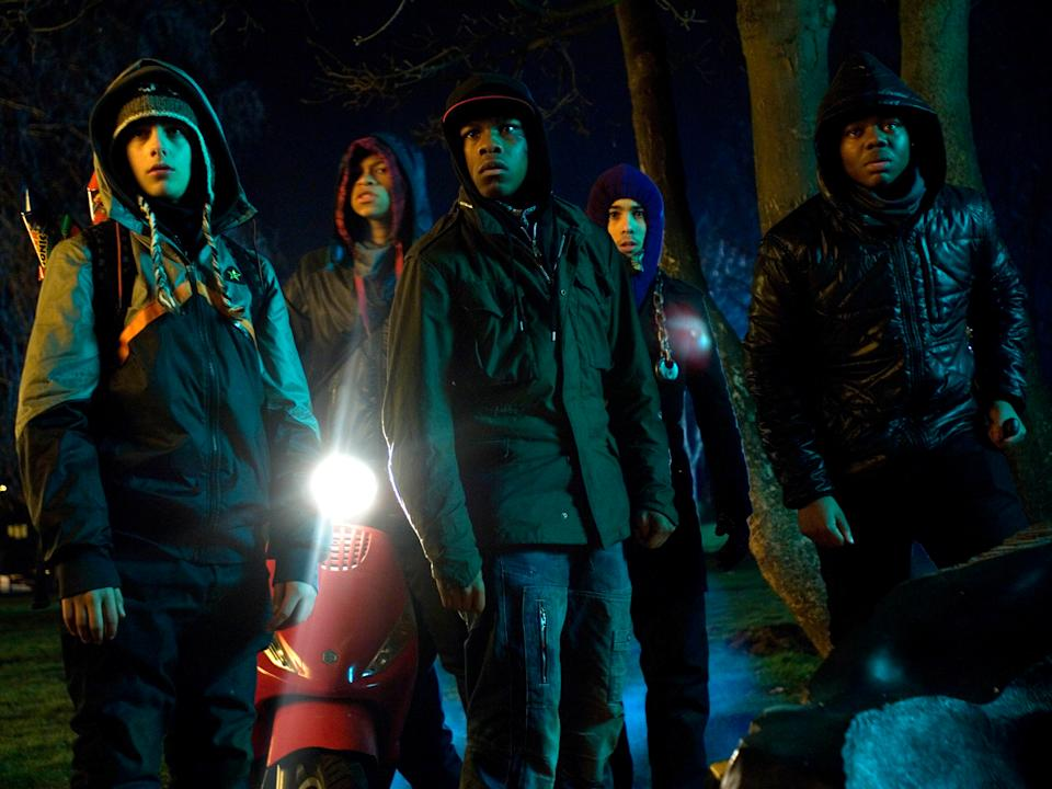 The young cast helped with the dialogue in 2011's 'Attack the Block'Optimum Releasing