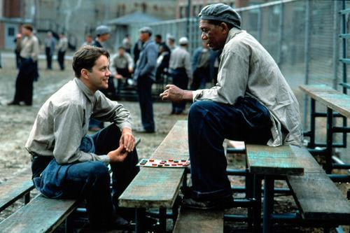 Scene from The Shawshank Redemption
