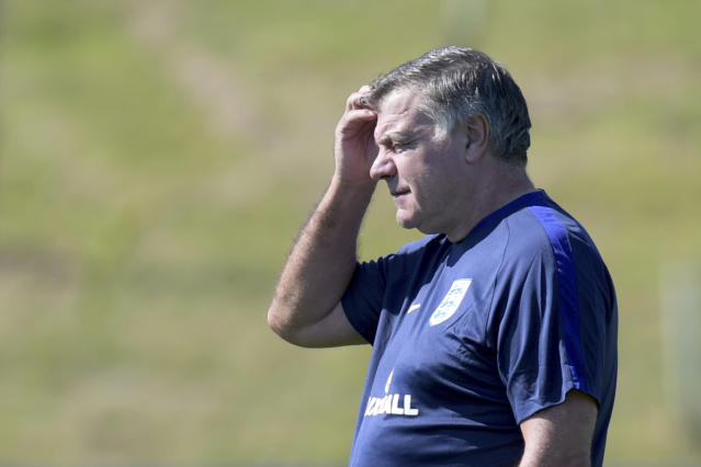 Sam Allardyce lasted just 67 days as England manager