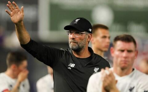 <span>Klopp says Liverpool must now move on from their Champions League win </span> <span>Credit: GETTY IMAGES </span>