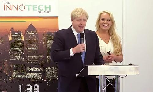 Jennifer Arcuri refuses to rule out claims of affair with Boris Johnson