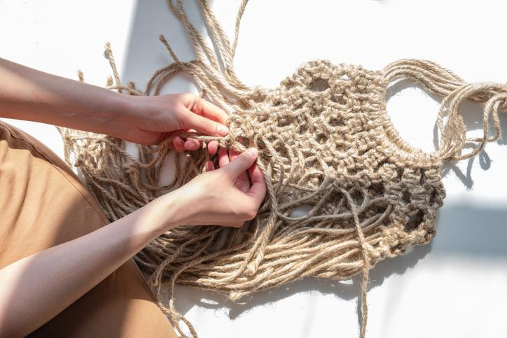 Making your own macrame bag