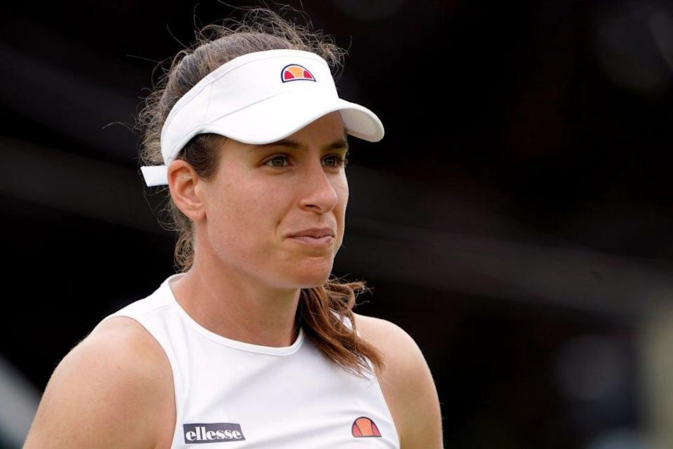 Johanna Konta has had to withdraw from the US Open with injury (Zac Goodwin/PA) (PA Wire)