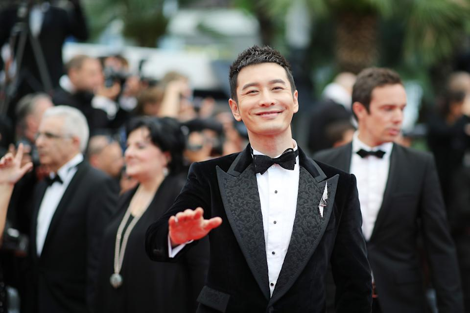 CANNES, FRANCE - MAY 16: Huang Xiao Ming attends the screening of