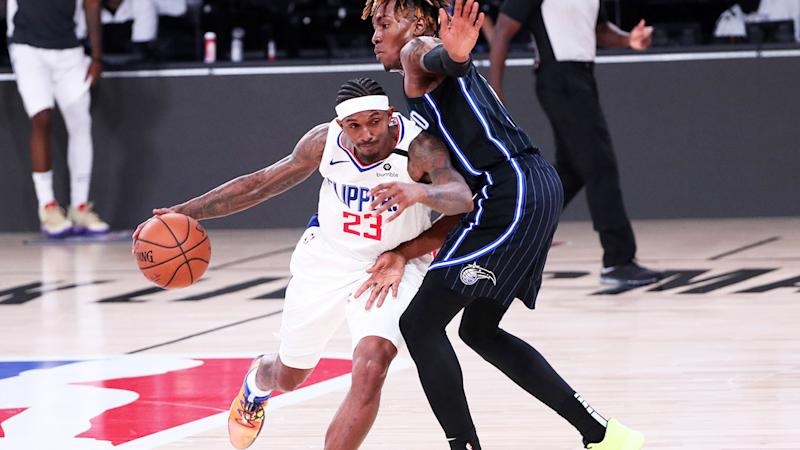 Lou Williams, pictured here in action for the LA Clippers in the NBA.