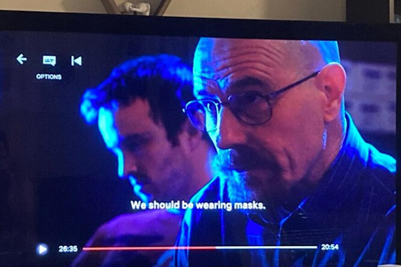 Coronavirus is the One Who Knocks: Breaking Bad's Walter White Knew Importance of Masks Before 2020