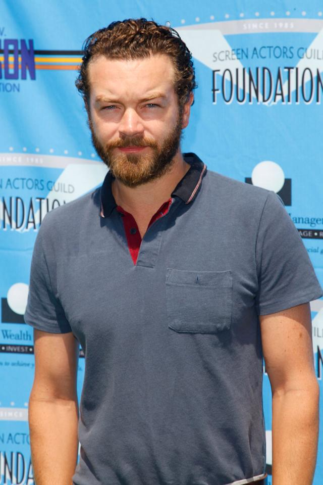 BURBANK, CA - JUNE 11:  Actor Danny Masterson attends the 3rd Annual SAG Foundation Golf Classic at Lakeside Golf Club on June 11, 2012 in Burbank, California.  (Photo by Imeh Akpanudosen/Getty Images)
