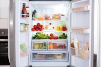 <p>Stow produce in crisper drawers and snack items, like cheese sticks and hummus packs, together in the deli drawer. That way your foods will fit better and create more usable space, says Jennings. Keep perishables in their original packaging so you can track expiration dates, she adds.</p>