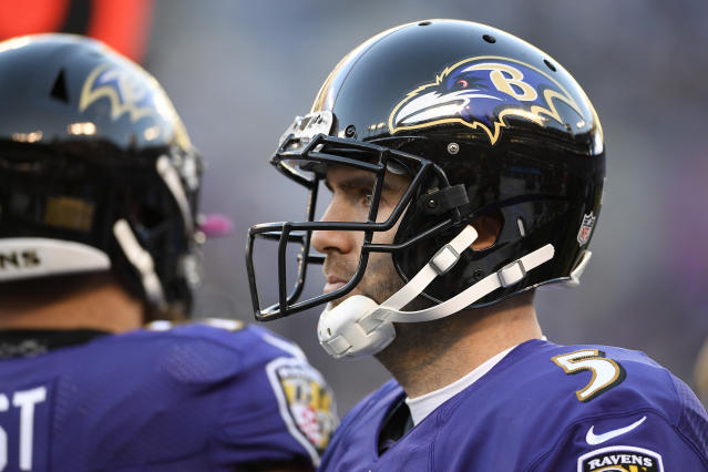 The Ravens have moved past the Joe Flacco era. (AP)