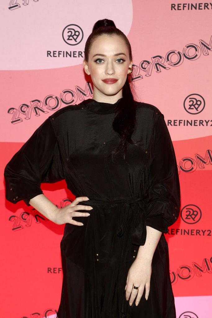 Kat Dennings has come to Billie Eilish's defense. (Photo: Tommaso Boddi/Getty Images for Refinery29)