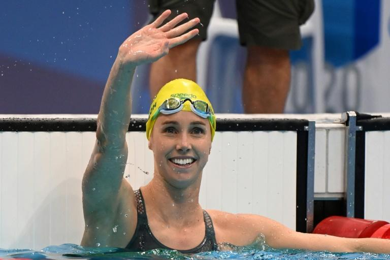 Australia's Emma McKeon tied the record for the most decorated female athlete at a single Olympics