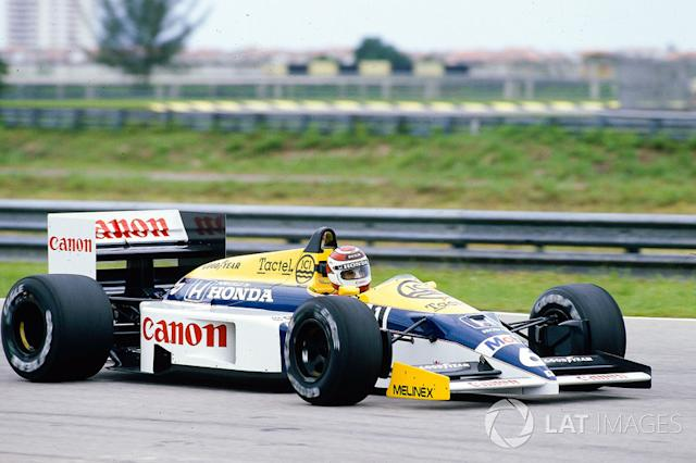 "Nelson Piquet, Williams FW11 Honda <span class=""copyright"">Motorsport Images</span>"