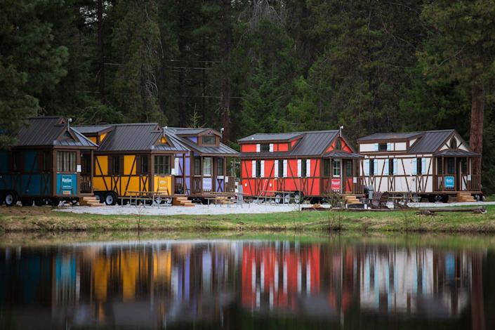 Leavenworth Tiny House Village sits just east of Seattle in an Instagram-worthy Bavarian town.