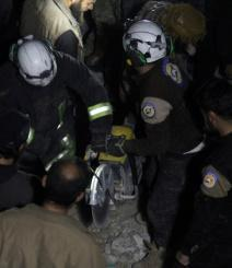 US claims Syria strike, denies targeting mosque where 46 killed