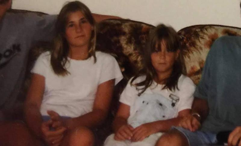 Alissa Turney and her younger sister, Sarah. (Contributed photo by Turney family)
